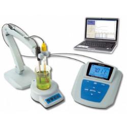 pH-метр / ОВП метр с магнитной мешалкой профессиональный лабораторный PHS-3D-03