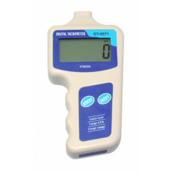 Цифровой лазерный тахометр, диапазон измерений - от 30 до 99999 об/мин DT-0071