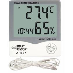 Метео-станция с термометром и измерителем влажности AR867