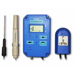 pH метр монитор-контроллер активности ионов водорода в воде PH-601