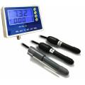 купить Монитор качества воды: pH метр, кондуктометр, солемер, ОВП метр, термометр PHT-028
