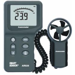 Портативный анемометр с выносным датчиком AR826