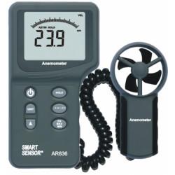 Анемометр скорости ветра AR836