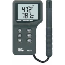 Термометр-влагомер цифровой с выносным датчиком AR847