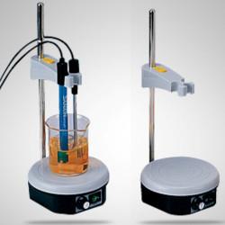 Магнитная мешалка с электродным держателем Sanxin M601