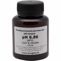 Калибровочный буферный раствор pH 6.86 для pH метров.