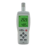 Портативный термогигрометр AS837