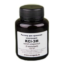 Калий хлористый KCl-3M раствор для хранения электродов