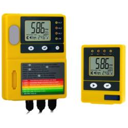 Промышленный монитор углекислого газа и температуры воздуха ZG10U